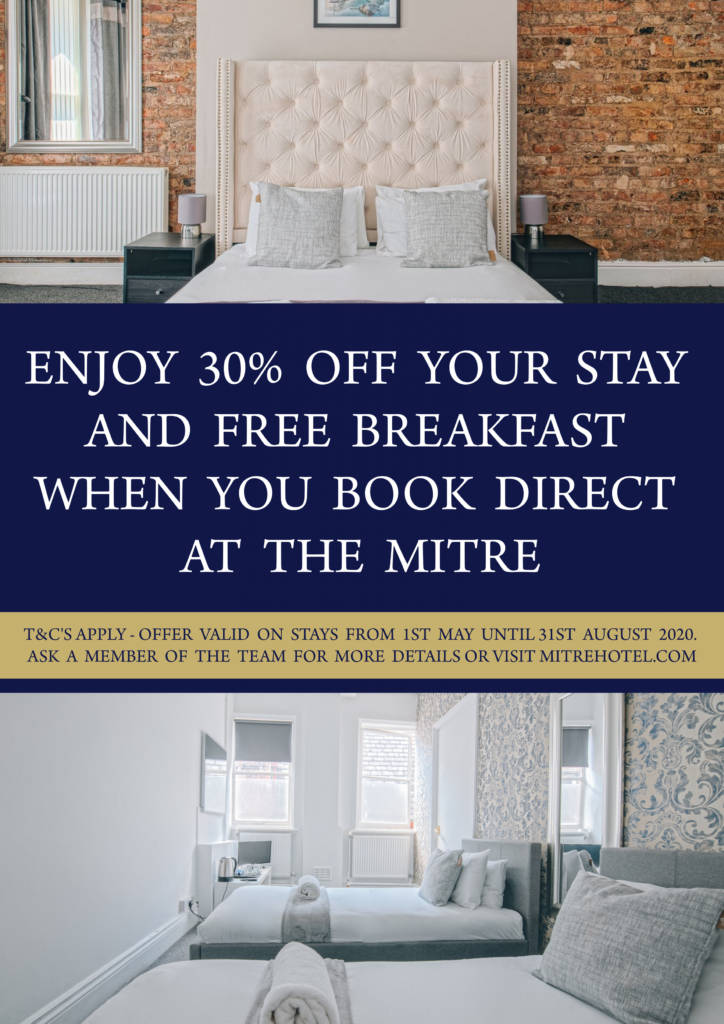 Mitre rooms offer