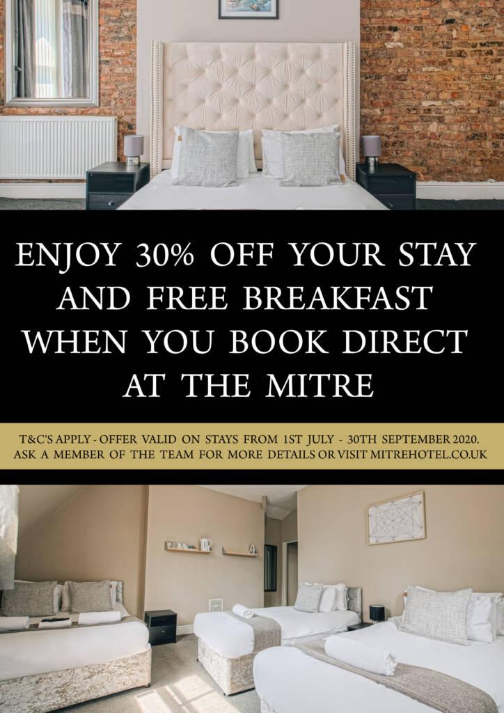 Rooms offer Mitre